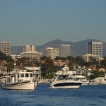 Newport_Center_Skyline_and_Santa_Ana_Mountains
